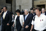 Anne Sinclair Photo - Former IMF Chief Dominique Strauss-Kahn (L) and wife Anne Sinclair leaving Manhattan Criminal Court on July 1 2011 in New York City The Manhattan district attorneys office released Strauss-Kahn without bail after the credibility of the chief witness and alledged victim had come into question Strauss-Kahn was arrested on May 14 on sexual assault charges following accusations by a maid at the Sofitel in New York City