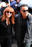 Patti Scialfa Photo - August 6 2015 New York CityPatti Scialfa and Bruce Springsteen made an appearance on the Daily Show with Jon Stewart on August 6 2015 in New York City Credit Kristin CallahanACE Picturestel (212) 243 8787 or (646) 769 0430