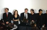 Erol Sander Photo - GERMANY DECEMBER 17 2004    Erol Sander Angelina Jolie Colin Farrell and Oliver Stone at the German premiere of Alexander