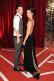 Andrew Moss Photo - Andrew Moss and Claire Cooper arriving for the British Soap Awards 2013 at Media City Manchester 18052013 Picture by Steve Vas  Featureflash