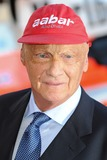 Niki Lauda Photo - Niki Lauda arriving for the Rush World premiere at the Odeon Leicester Square London 02092013 Picture by Steve Vas  Featureflash