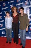 Logan Lerman Photo - Actress CHRISTINE LAHTI with actors LOGAN LERMAN (left)  MATT YOUNG - stars of TV series Jack  Bobby - at party at Warner Bros Studios Hollywood for Rock the VoteSeptember 29 2004