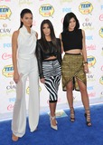 Kylie Jenner Photo - Kendall Jenner  Kim Kardashian  Kylie Jenner at the 2014 Teen Choice Awards at the Shrine AuditoriumAugust 10 2014  Los Angeles CAPicture Paul Smith  Featureflash