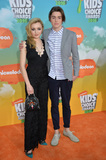Peyton List Photo - Actress Peyton List  brother actor Spencer List at the 2016 Kids Choice Awards at The Forum Los AngelesMarch 12 2016  Los Angeles CAPicture Paul Smith  Featureflash