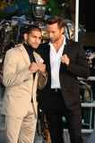 Amir Khan Photo - Amir Khan and Hugh Jackman arrives for the Real Steel premiere at the Empire Leicester Square London 14092011  Picture by Steve Vas  Featureflash