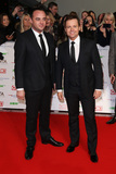 Ant  Dec Photo - Anthony McPartlin  Declan Donnelly at The National Television Awards 2016 (NTAs) held at the O2 Arena London January 20 2016  London UKPicture James Smith  Featureflash