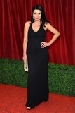 Alison King Photo - Alison King arriving for the British Soap Awards 2012 at London TV Centre South Bank London28042012 Picture by Steve Vas  Featureflash