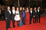 Alina Berzenteanu Photo - Giorgio Colangeli  Isabella Ragonese  Marius Ignat  Alina Berzenteanu  Daniele Luchetti  Stefania Montorsi  Raoul Bova  Luca Zingaretti at the premiere of their movie Our Life (La Nostra Vita) which is in competition at the 63rd Festival de CannesMay 20 2010  Cannes FrancePicture Paul Smith  Featureflash
