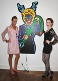Amanda Eliasch Photo - Esm Bianco (right)  Lady Victoria Hervey at reception for Amanda Eliaschs neon art exhibition Peccadilloes at the Leadapron Gallery West HollywoodJune 16 2011  Los Angeles CAPicture Paul Smith  Featureflash