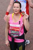 Amanda Mealing Photo - Amanda Mealing finishes the 2013 London Marathon on The Mall London 22042013 Picture by Steve Vas  Featureflash