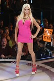 Angelique Morgan Photo - Angelique Morgan Frenchy at Celebrity Big Brother 2014 - ArrivalsBorehamwood 18082014 Picture by James Smith  Featurefash