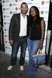 Angelica Bell Photo - Michael Underwood and Angelica Bell arriving for the Jeans For Genes Launch Party at Kettners London 06092011  Picture by Steve Vas  Featureflash
