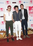 Andrew Dost Photo - Jack Antonoff Andrew Dost and Nate Ruess of Fun arriving for the The MTV EMAs 2012 held at Festhalle Frankfurt Germany 11112012 Picture by Henry Harris  Featureflash