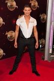 Aljaz Skorjanec Photo - Aljaz Skorjanec attending the red carpet launch for Strictly Come Dancing 2014 at Elstree Studios London 02092014 Picture by Alexandra Glen  Featureflash