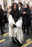 Anggun Photo - Anggun arrives at the Jean Paul Gaultier Spring Summer 2016 show as part of Paris Fashion WeekJanuary 27 2016 Paris FrancePicture Kristina Afanasyeva  Featureflash