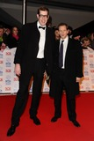 Richard Osman Photo - Richard Osman and Alexander Armstrong arriving for the National Television Awards 2013 at the O2 Arena London 23012013 Picture by Steve Vas  Featureflash