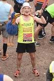 Tony Audenshaw Photo - Tony Audenshaw finishes the 2015 London Marathon The Mall London 26042015 Picture by Steve Vas  Featureflash