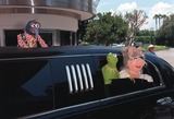 Kermit the Frog Photo - 11JUL99  KERMIT THE FROG MISS PIGGY  GONZO arriving at Sony Pictures Studios Culver City for the world premiere of their new movie Muppets From Space Paul Smith  Featureflash