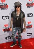 Nikki Sixx Photo - LOS ANGELES CA April 3 2016 Musician Nikki Sixx at the iHeartRadio Music Awards 2016 at The ForumPicture Paul Smith  Featureflash