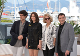 Alex Brendemuhl Photo - Actors Marion Cotillard Louis Garrel Alex Brendemuhl  director Nicole Garcia at the photocall for From the Land of the Moon (Mal de Pierres) at the 69th Festival de CannesMay 15 2016  Cannes FrancePicture Paul Smith  Featureflash