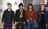 The Vaccines Photo - The Vaccines arriving for the Brit Awards 2013 at the O2 Arena Greenwich London 20022013 Picture by Henry Harris  Featureflash