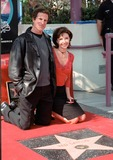 The Ceremonies Photo - 10NOV99 Former Cheers star TED DANSON with actress wife MARY STEENBURGEN on Hollywood Blvd where he was honored with the 2148th star on the Hollywood Walk of Fame today Attending the ceremony were some of his former co-stars from the series  Paul Smith  Featureflash