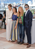 Andrea Arnold Photo - Actors Riley Keough Sasha Lane Shia LaBeouf  director Andrea Arnold at the photocall for American Honey at the 69th Festival de CannesMay 15 2016  Cannes FrancePicture Paul Smith  Featureflash