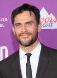 Graumans Chinese Theatre Photo - HOLLYWOOD CA - MARCH 1  Actor Cheyenne Jackson attends Red Carpet Event for FXs Feud Bette And Joan at Graumans Chinese theatre on March 1 2017 in Hollywood California  (Photo by Barry KingImageCollectcom)