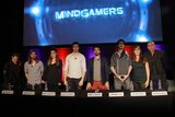 Andrew Goth Photo - Ryan Doyle Tom Payne Melia Kreiling Oliver Stark Mikey Siegel Tim Mullen Joanne Reay Andrew Goth 01312017 MindGamers Press Conference held at Red Bull North America in Santa Monica CA Photo by Julian Blythe  HollywoodNewsWireco