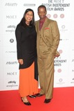 Adrian Lester Photo - London UK Lolita Chakrabarti and Adrian Lester at the Moet British Independent Film Awards at Old Billingsgate 9th December 2012Keith MayhewLandmark Media