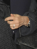 Anne Robinson Photo - London UK   A close up of a bent finger belonging to TV presenter of The Weakest Link Anne Robinson   She was at the Le Caprice 25th birthday party  3rd October 2006 SydLandmark Media
