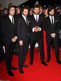 Howard Charles Photo - London UKL-R Luke Pasqualino  Santiago Cabrera Howard Charles and  Tom Burke (The Musketeers in new    BBC TV series) at the Red Carpet arrivals at the National Television Awards at the O2 Arena London on 22nd January 2014 RefLMK73-46450-230114 Keith MayhewLandmark MediaWWWLMKMEDIACOM