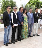 Anthony Wong Photo - Cannes France Johnny Hallday Johnny To Michelle Ye Anthony Wong and Simon Yam at the 62nd Annual Cannes Film Festival 17th May 2009SydLandmark Media