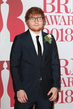 Ed Sheeran Photo - London UK Ed Sheeran at The Brit Awards 2018 at the O2 Arena Greenwich Peninsula London on Wednesday February 21st 2018 Ref LMK73-J1610-220218Keith MayhewLandmark MediaWWWLMKMEDIACOM