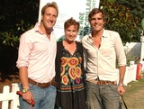 Emma Forbes Photo - London UK Ben Fogle Emma Forbes and Oscar Humphries at the Macmillan Dog Day in aid of Macmillan Cancer Support at the Royal Hospital Chelsea  Judges included Jade Jagger Ben Fogle Oscar Humphries Ben di Lisi Linda Barker Jo Hansford Bruce Oldfield and Elizabeth Hurley04 July 2006Ali KadinskyLandmark Media