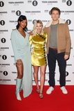 Maya Jama Photo - LondonUK Maya Jama Mollie King and Greg James   at the Radio One Teen Awards red carpet arrivals at BBC Television Centre London 24th November 2019RefLMK73-S2620-251119Keith MayhewLandmark MediaWWWLMKMEDIACOM