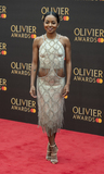 Adrienne Warren Photo - London UK Adrienne Warren at The Olivier Awards 2019 with Mastercard at Royal Albert Hall on April 7 2019 in London England 7th April 2019Ref LMK386-J4701-080419Gary MitchellLandmark MediaWWWLMKMEDIACOM