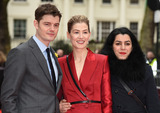 Sam Riley Photo - London UK Sam Riley Rosamund Pike Marjane Satrapi  at Radioactive UK Premiere held at Cuzon Mayfair London on Sunday 8 March 2020 Ref LMK392-2982-080320Vivienne VincentLandmark Media WWWLMKMEDIACOM