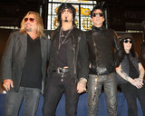 Motley Crue Photo - London UK Vince Neil Nikki Sixx Tommy Lee Mick Mars and Alice Cooper at the last ever European press conference for Motley Crue at Law Society on June 9 2015 in London EnglandRef LMK73-51440-090615Keith MayhewLandmark Media WWWLMKMEDIACOM