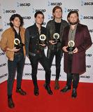 The Amazons Photo - London UK The Amazons ( Matt Thomson Chris Alderton Elliot Briggs Joe Emmett ) at the ASCAP Awards London 2017 One Maylebone Maylebone Road London England UK on Monday 16 October 2017Ref LMK315-J937-171017CAN NGUYENLandmark MediaWWWLMKMEDIACOM