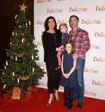 Amanda Lamb Photo - London UK Amanda Lamb Sean McGuinness Lottie and Willow Rose  at a VIP Special Screening of Ballerina held at The May Fair Hotel Berkeley Street London on Saturday 3 December 2016 Ref LMK392-62321-041216Vivienne VincentLandmark Media WWWLMKMEDIACOM