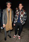 Oliver Proudlock Photo - London UK Oliver Proudlock and Hector Bellerin  at the LFW (Mens) aw2018 Oliver Spencer catwalk show BFC Show Space The Store Studios The Strand London England UK on Saturday 06 January  Ref LMK315-S1050-070118Can NguyenLandmark Media WWWLMKMEDIACOM
