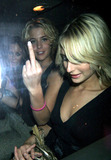 Ali Bastian Photo - London Ali Bastian and Gemma Atkinosn giving our photographer the finger whilst leaving the Inside Soap awards which were held at FloriditaSeptember 27th 2005Picture by FlashburstLandmark Media