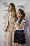 Blake Lively Photo - London UK Blake Lively and Anna Kendrick at the UK Premiere of A Simple Favor at the BFI Southbank on the 17th September 2018 in London England UK  Ref LMK386-J2620-180918Gary MitchellLandmark MediaWWWLMKMEDIACOM