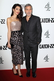 Amal Clooney Photo - LondonUK  George Clooney and Amal Clooney at the Catch 22 - TV Series premiere at the Vue Westfield Westfield Shopping Centre Shepherds Bush London 15th  May 2019RefLMK73-S2430-169519Keith MayhewLandmark MediaWWWLMKMEDIACOM