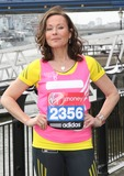 Amanda Mealing Photo - London UK   Amanda Mealing at the London Marathon 2013 Celebrities Photocall outside the Tower Hotel London 17th April  2013Keith MayhewLandmark Media