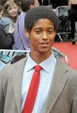 Alfred Enoch Photo - London UK Alfred Enoch at the premiere of the film Harry Potter and the Half-Blood Prince held at the Odeon Cinema Leicester Square 7th July 2009 SydLandmark Media