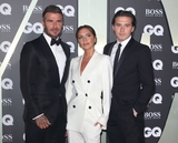 David Beckham Photo - London UK David Beckham Victoria Beckham and Brooklyn Beckham  at GQ Men of the Year Awards held at the Tate Modern Bankside London on September 3rd 2019Ref LMK73-J5391-040919Keith MayhewLandmark MediaWWWLMKMEDIACOM