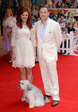 Ashleigh Butler Photo - London UK  Ashleigh Butler Pudsey and David Walliams at The World Premiere of Pudsey The Dog Movie at Vue West End Leicester Square London on 13th July 2014  Ref LMK392 -49053-140714Vivienne VincentLandmark Media WWWLMKMEDIACOM