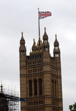 Parliament Photo - LondonUK  Houses of Parliament One of the items on show for the anti-Donald Trump demonstrations following his official visit to the UK 4th June 2019RefLMK11-S2525-040619Steve BealingLandmark MediaWWWLMKMEDIACOM